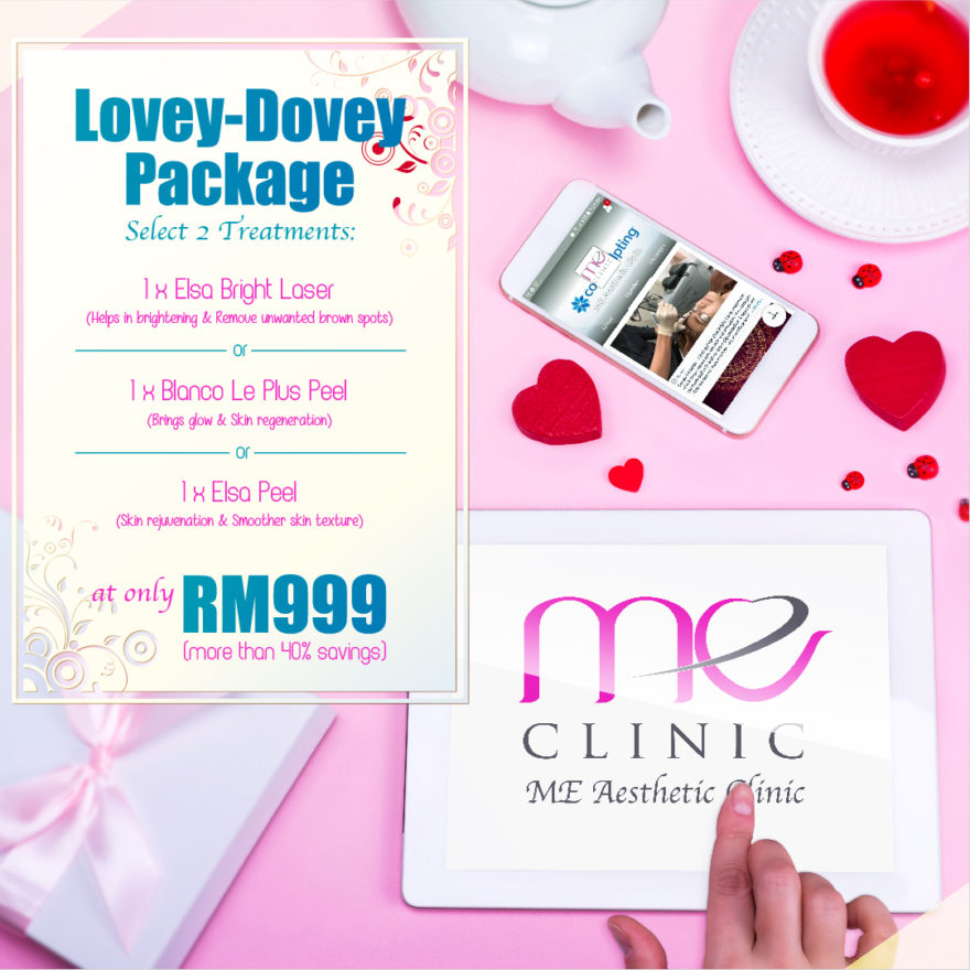 Valetine Day promo by Me Clinic