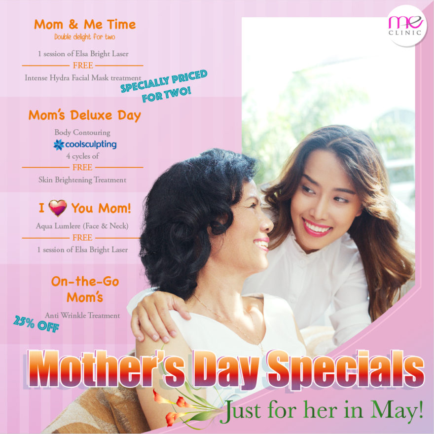 ME Clinic Mother's Day 2018 Promotion