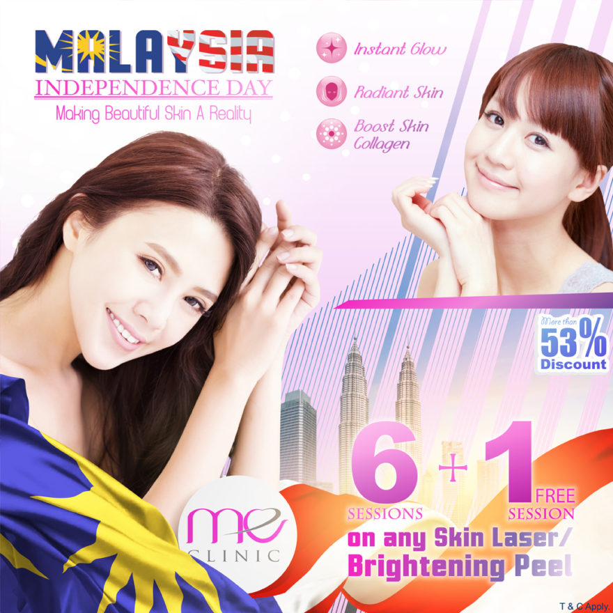 merdeka and malaysia day promotion by meclinic
