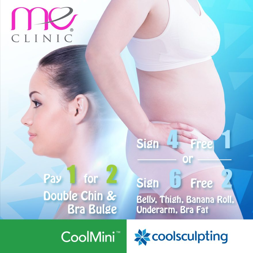Remove Stubborn Fat with CoolSculpting with our One-Day-Sale