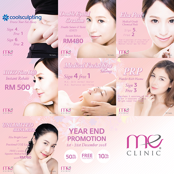 Coolsculpting Year End Promo ME CLINIC
